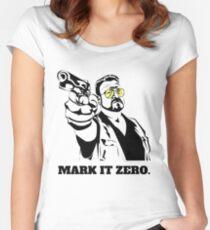 Mark It Zero - Walter Sobchak Big Lebowski shirt Women's Fitted Scoop T-Shirt