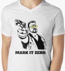 Mark It Zero - Walter Sobchak Big Lebowski shirt Men's V-Neck T-Shirt