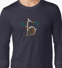Camiseta de manga larga Celtic Rabbit Letter H - New Edition