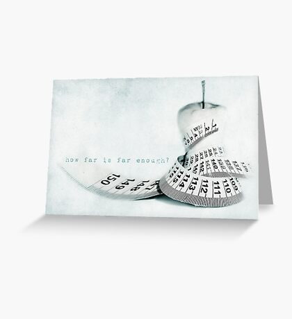 pear and diet Greeting Card