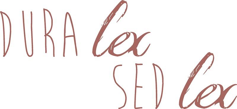 dura lex sed lex stickers by sorenza redbubble. Black Bedroom Furniture Sets. Home Design Ideas