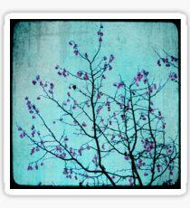 pink berries Sticker