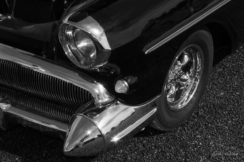 The Pointed Chrome Bumper by KirtTisdale