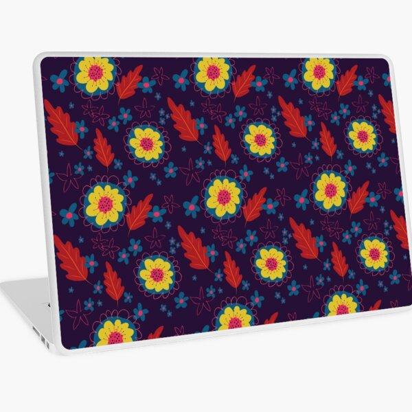 Autumn Florals Laptop Skin