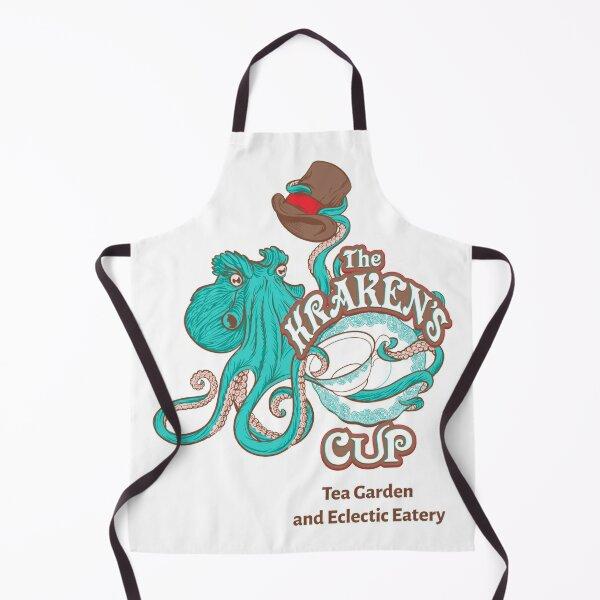 The Kraken's Cup (Logo w/ Tagline) Apron