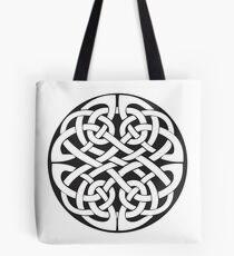 Round Celtic Knot Tote Bag