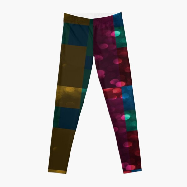 Abstract Pattern Washed Out  Leggings