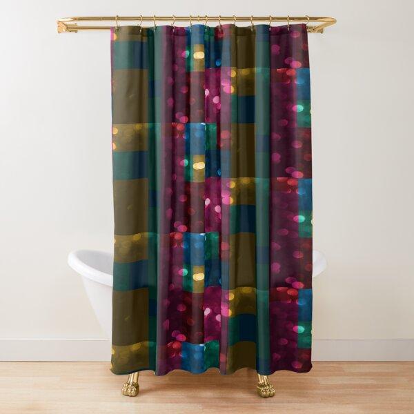 Abstraktes Muster ausgewaschen Duschvorhang