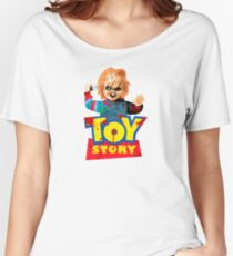 Chucky - A Toy Story (Parody) Women's Relaxed Fit T-Shirt