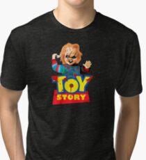 Chucky - A Toy Story (Parody) Tri-blend T-Shirt