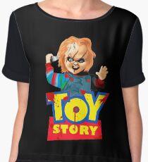 Chucky - A Toy Story (Parody) Women's Chiffon Top