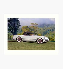 1953 Chevrolet Corvette Roadster Art Print