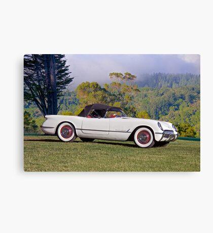 1953 Chevrolet Corvette Roadster Canvas Print