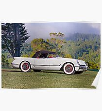 1953 Chevrolet Corvette Roadster Poster