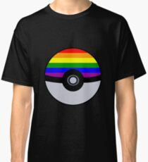 Gay Poké Ball - Black Version Classic T-Shirt