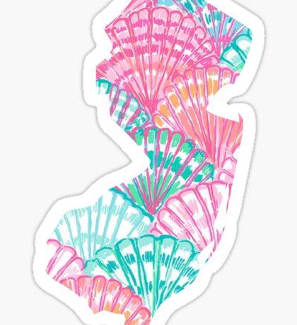 New Jersey Pattern Sticker