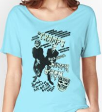 The Cramps - Concert Poster Women's Relaxed Fit T-Shirt