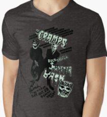 The Cramps - Concert Poster Men's V-Neck T-Shirt