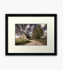 Jimmys Barn, Appleton Farms Framed Print