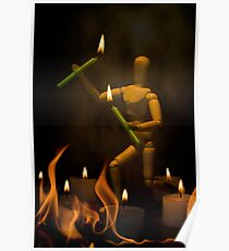 Fire Dancing Poster