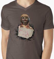 Annabelle the Doll Men's V-Neck T-Shirt