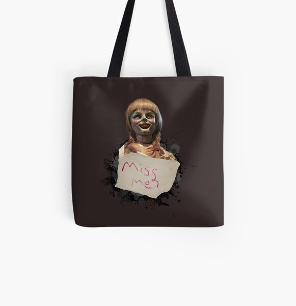 Annabelle the Doll All Over Print Tote Bag