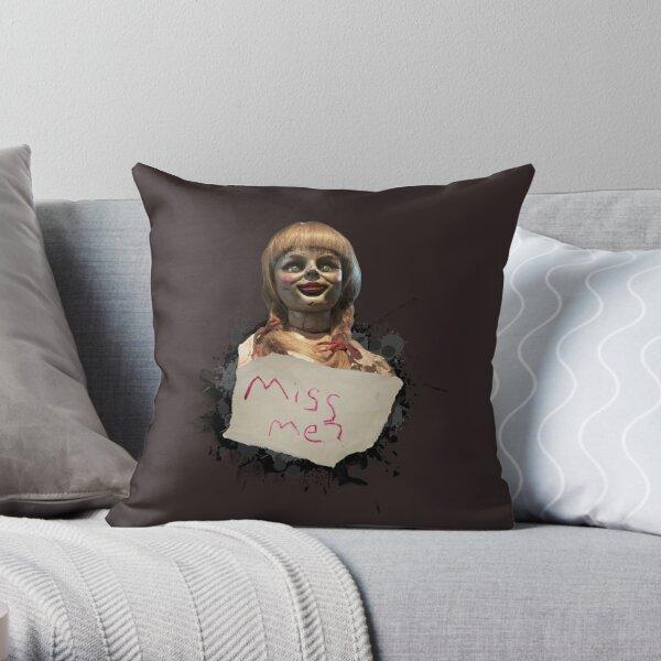 Annabelle the Doll Throw Pillow