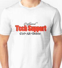 Professional Tech Support Design For Computer Geeks Unisex T-Shirt