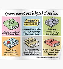 (even more) abridged classics Poster