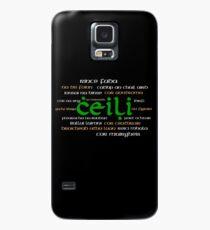 Irish Dance Ceili (Dark) Case/Skin for Samsung Galaxy