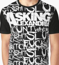 Asking Alexandria rock n roll bad words Graphic T-Shirt
