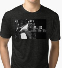 'I'M NOT SURPRISED MOTHERFUCKER' Nate Diaz Tri-blend T-Shirt
