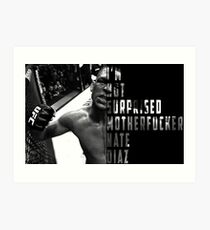 'I'M NOT SURPRISED MOTHERFUCKER' Nate Diaz Art Print