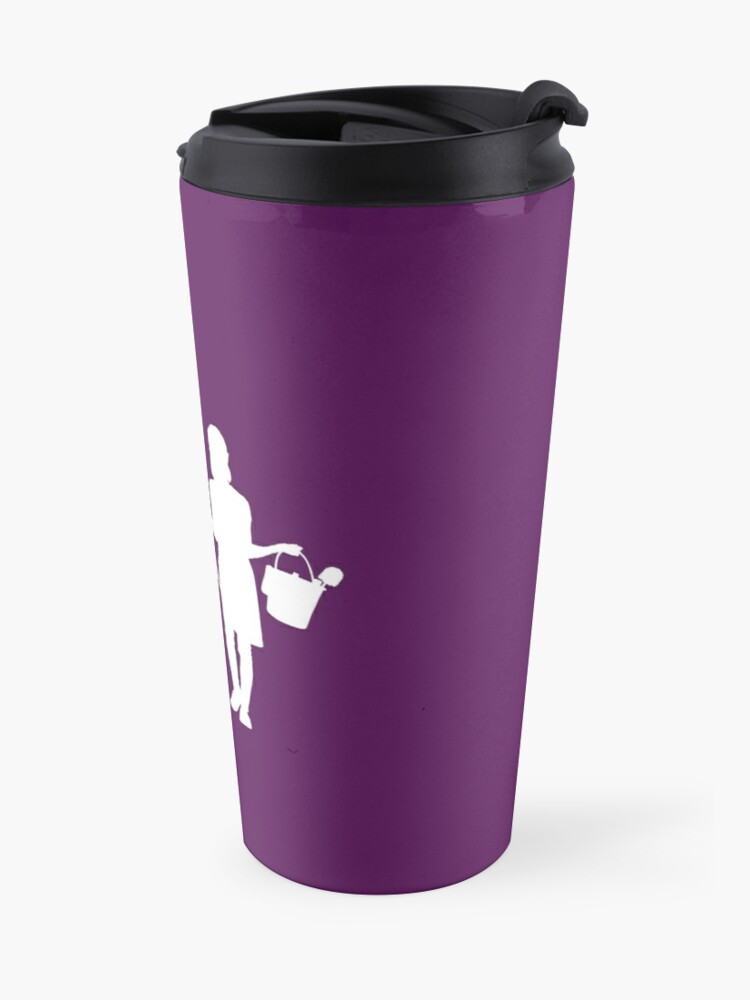 Alternate view of She Believed She Should And So She Did Housekeeper Cleaning Motivation Travel Mug