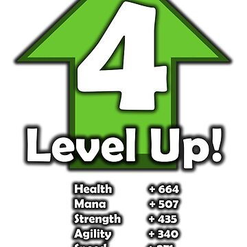 Level Up! - Level 4! by RailstonArtwork