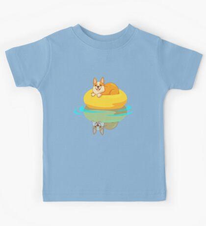 Summer Corgi Kids Clothes