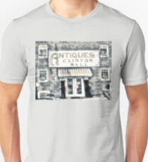 """""""Antiques... Clinton Mall, #4""""... prints and products Unisex T-Shirt"""