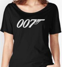 007 James Bond Sticker Vinyl Decal Gun Wall Car 12 Women's Relaxed Fit T-Shirt