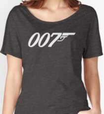 007 James Bond Sticker Vinyl Decal Gun Wall Car 12 Women's Relaxed Fit T-Shirt