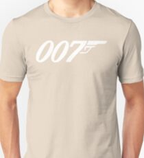 007 James Bond Sticker Vinyl Decal Gun Wall Car 12 T-Shirt