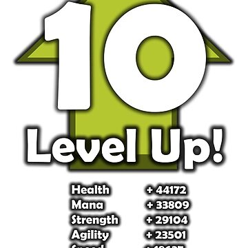 Level Up! - Level 10! by RailstonArtwork