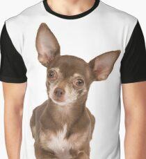 Cute Chihuahua sitting up Graphic T-Shirt