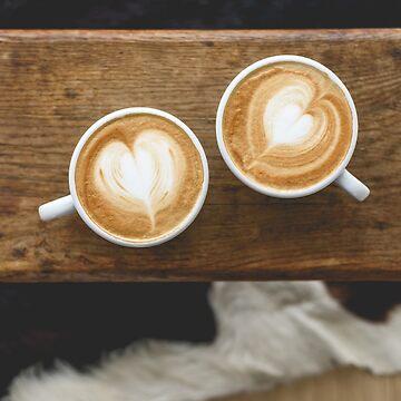 Coffe love latte art by staz