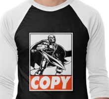 Taskmaster Copy Obey Design Men's Baseball ¾ T-Shirt