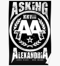 Asking Alexandria England Rock N' Roll From Death To Destiny Poster