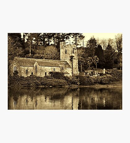 St. Just in Roseland Photographic Print