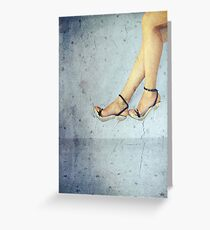 Legs Greeting Card