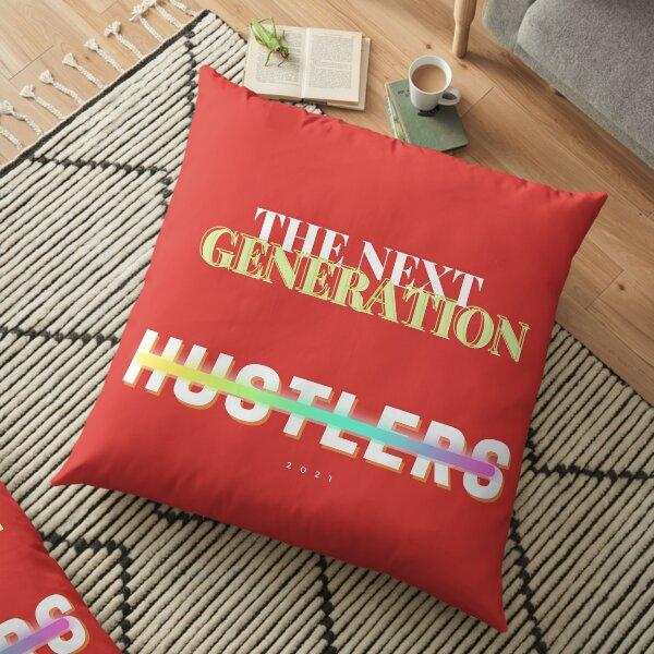 The Next Gen Hustlers Floor Pillow