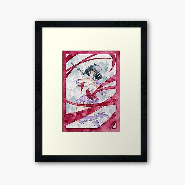 ˹death · reborn · revolution˼ Framed Art Print