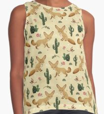 Desert of the Fennec Fox Contrast Tank